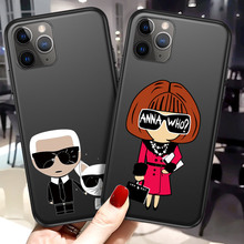 Moskado Cartoon Letter Pattern Phone Case For iPhon