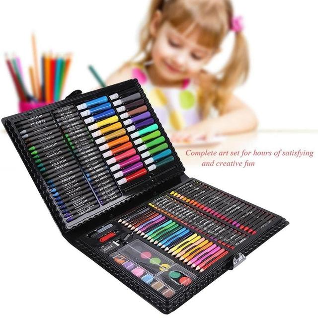 168pcs Art Supplies Set for Girls Deluxe Art Creativity Painting Drawing Set Adults Colored Pencil Kit for artists Art Supply