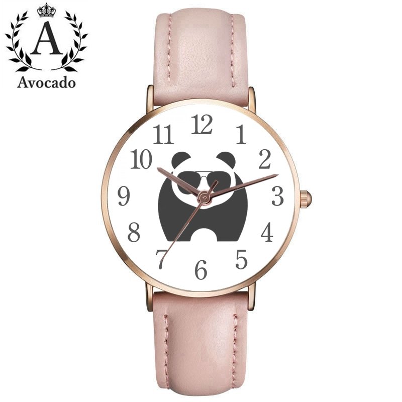 New Relogio Feminino Watches Women Fashion Watch Panda Quartz Wrist Watch Ladies Casual Women Watch Reloj Mujer Orologio