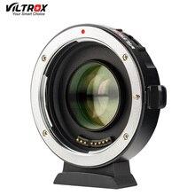 Viltrox EF M2 השני AF פוקוס אוטומטי EXIF 0.71X להפחית מהירות מאיץ עדשת מתאם טורבו עבור Canon EF עדשה כדי m43 מצלמה GH4 GH5 GF6