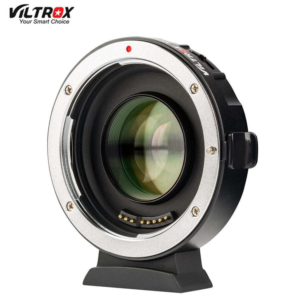 Viltrox EF M2 II AF Auto focus EXIF 0.71X Reduce Speed Booster Lens Adapter Turbo for Canon EF lens to M43 Camera GH4 GH5 GF6speed boosterlens adapterlens turbo -