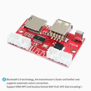 Image 3 - UNISIAN Bluetooth 5.0 decoder Board USB u disk tf card Aux Signal input Support MP3  WMA WAV FLAC APE remote control DAC Decoder