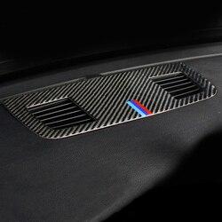 Carbon Fiber For BMW 3 Series E90 Car styling Console Dashboard Speaker panel decoration Cover Trim Car Sticker Auto Accessories