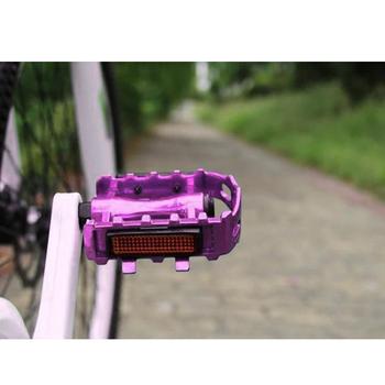 Ultralight pedały rowerowe 2020 nowy 1 para rower ze stopu aluminium pedał rower mtb pedał górska droga gorąca sprzedaż łożysko rowerowe pedały tanie i dobre opinie 11 6*10*2 5cm 4 56*3 93*0 98in Rowery dla dzieci Rowery górskie Rowery drogowe mountain bike pedals Aluminium stop Ultralight pedału