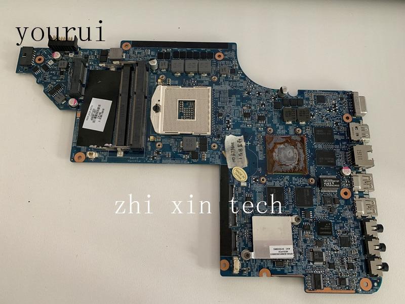 Yourui dla HP Pavilion DV7 DV7-6000 639391-001 639391-501 laptopa płyty głównej płyta główna w HD6770M 1GB DDR3 Test ok