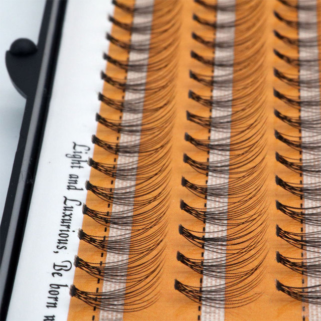 60 pcs/lot Artificial natural long Individual Cluster eyelashes Professional makeup Grafting fake false eyelash made in china 2