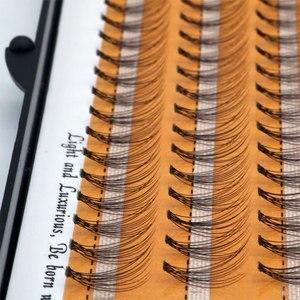 Image 3 - 60 יח\חבילה מלאכותי טבעי ארוך פרט אשכול ריסים מקצועי איפור השתלה מזויף false ריס תוצרת סין