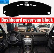цена на Car Dashboard Cover For Land Rover Range Rover Sport Discovery 3 Discovery 4 2010 - 2016 Dash Mat Dash Pad Sun Shade