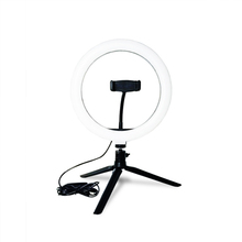 Светодиодный светильник кольцо для студийной фотосъемки и видеосъемки с регулируемой яркостью, штатив стойка для селфи, камеры, кольцевой светильник для телефона, светильник для фотосъемки