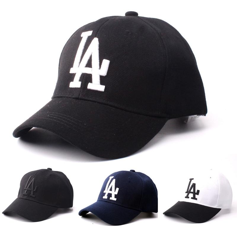 2020 Women Men LA Dodgers Baseball Cap Letter Embroidery Bone Snapback Hat Summer Outdoor Adjustable Hip Hop Hats Casquette