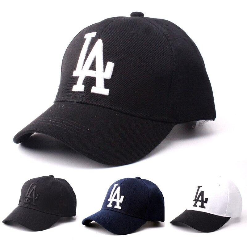 2020 de los hombres y las mujeres LA Dodgers gorra de béisbol con letras bordado hueso del sombrero del Snapback de verano al aire libre ajustable gorros de hip hop gorra