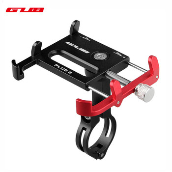 GUB plus 6 Rotating Bicycle Phone Holder For 3.5-6.2inch Smartphone 360 Degree Rotatable GPS Bike Phone Stand Support Holder фото