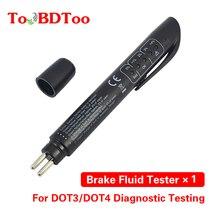 Quality OBD2 Brake Fluid Liquid Tester Pen With 5 LED Car Auto Vehicle Tools Diagnostic Tools Mini Brake Fluid Tester