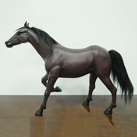 1/6 Scale KUMIK AC 6 War Horse Simulated Animal Desktop Decoration Action Figure Dolls Toys Gifts Displays