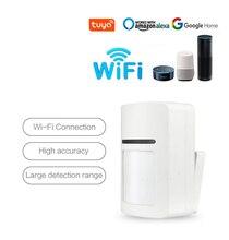 Tuya Wifi חכם PIR גלאי תנועת חיישן נייד APP הודעה בזמן אמת אלחוטי אבטחת בית