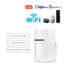 Tuya sensor de detector de movimento inteligente, sensor app móvel notificação em tempo real sem fio casa de segurança