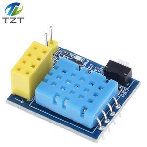Image 5 - ESP8266 ESP 01 ESP 01S DHT11 Temperature Humidity Sensor Module ESP8266 WIFI NodeMCU Smart Home IOT DIY Kit