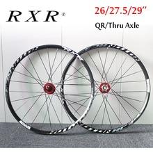 "RXR  26"" 27.5"" 29"" MTB Bicycle Wheel Mountain Bike Wheelset 7 11 Speed Front Rear Rim Wheelsets Fit Shimano SRAM Cassette"