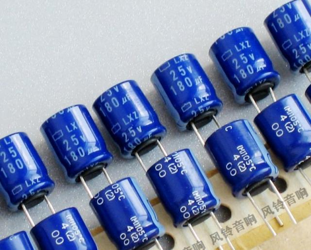 30pcs Japan Chemical NIPPON Lxz High Frequency Low Resistance Series 25V 180uf Electrolytic Capacitor Free Shipping