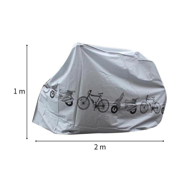 Universal Outdoor Waterdichte Bike Cover Fiets Cyclus Regen Stofbestendig Opslag All-Purpose Covers Fiets Opbergtas