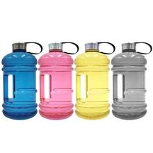 2.2L Large Capacity Drink Plastic Water Bottle Shaker Outdoor Camp Leakproof Training Gym Fitness Yoga Big Cup Bottle Water Jug 750ml plastic water bottle running fitness water cup large capacity outdoor riding water bottle x 1106b