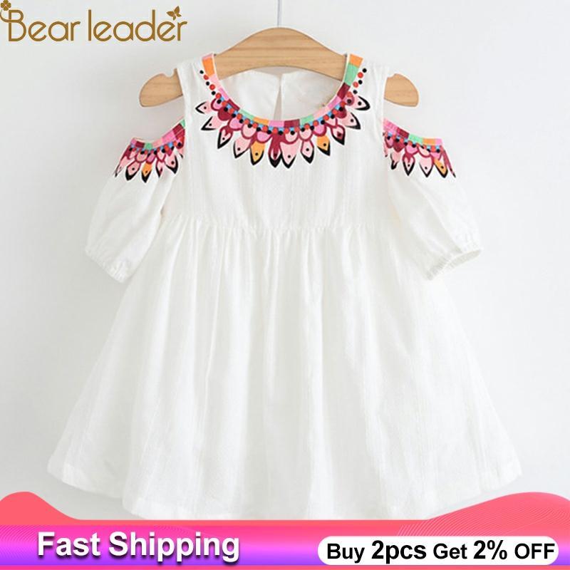 New Style Summer Bear Leader Girls Dress 2018 New Brand In