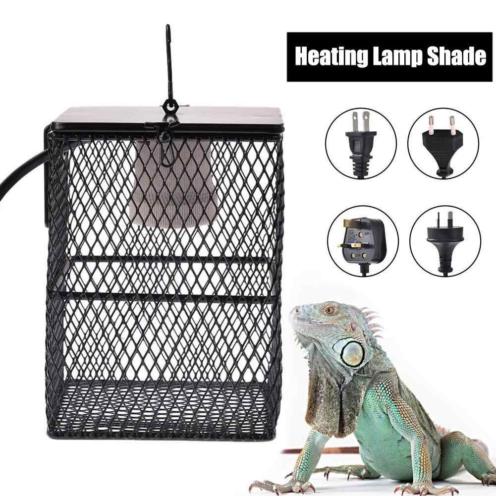 Sürüngen ısıtıcı koruma sürüngen ısıtma lambası gölge ısıtma ampul lambası  muhafaza kafesi koruyucu isıtma abajur Pet inkübatör|Ortam Aydınlatma| -  AliExpress