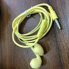 Fone de ouvido de alta fidelidade de 3.5mm sobre a música de som da orelha com cabo do fone de ouvido de 1.2m fones de ouvido com fio apropriados para ios huawei vivo oppo-controle