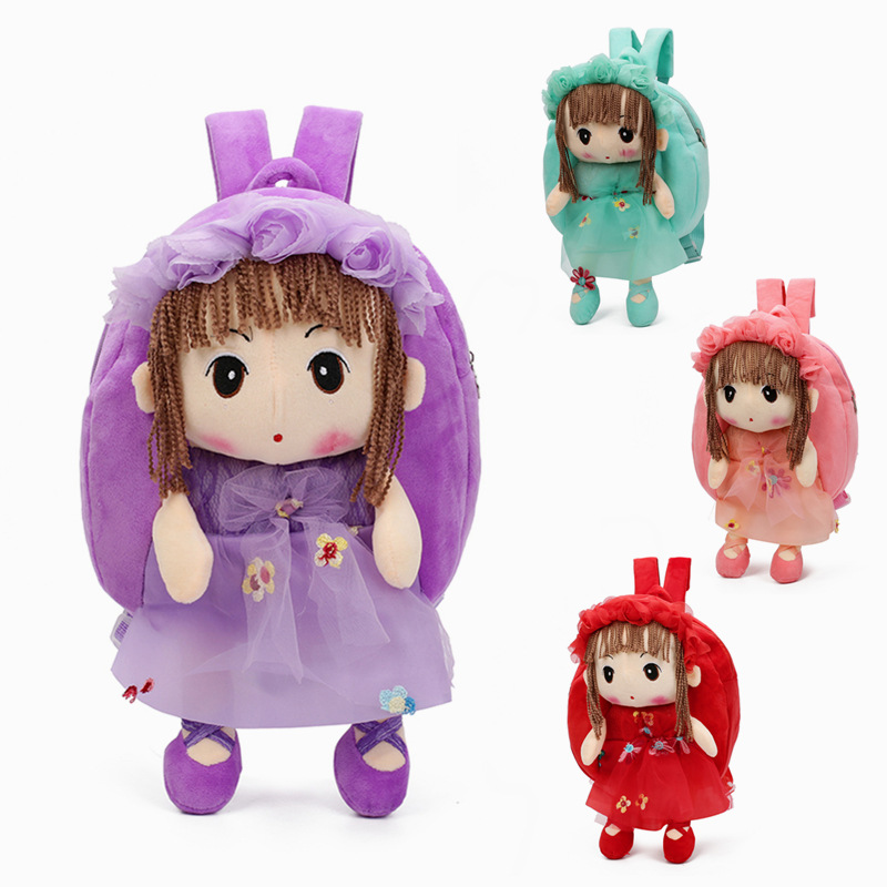 2019 3D Cartoon Cute Plush Children Backpacks Mini Schoolbag Child Plush Backpack Children School Bags Girls Boys Backpack