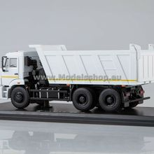 Scale-Models Dump-Truck Diecast-For-Collection KAMAZ-6520 1/43 Star SSM1250 SSM1250