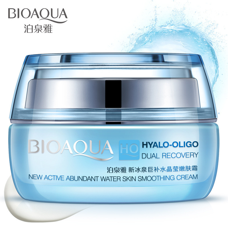 Bioaqua HO Hyalo Oligo Dual Recovery Day Creams Moisturizing Face Cream Hydrating Anti Aging Whitening Smooth Skin Care Ointment