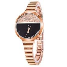 Женские часы в деловом стиле ginave роскошные элегантные кварцевые