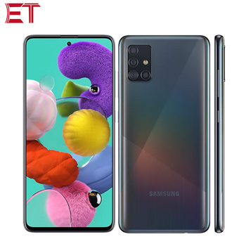 Перейти на Алиэкспресс и купить Абсолютно Новый Samsung Galaxy A51 A515F/DSN мобильный телефон 6 ГБ/8 ГБ ОЗУ 128 Гб ПЗУ OctaCore 6,5 дюйм1080x2400 4000 мАч 4 камеры NFC Android10.0