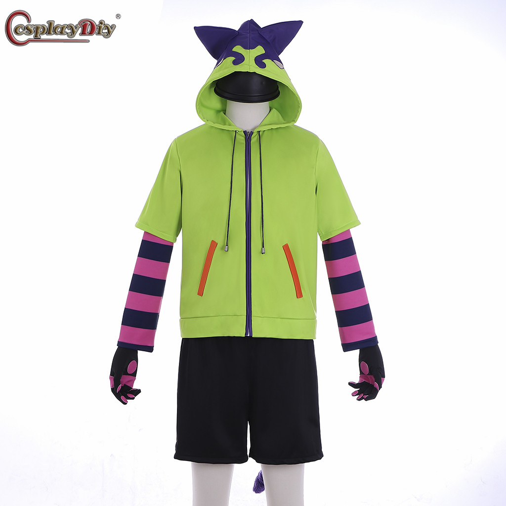 Cosplaydiy sk8 a infinity miya cosplay traje uniforme outfits sk8 o infinito miya gato moletom com capuz feito sob encomenda miya