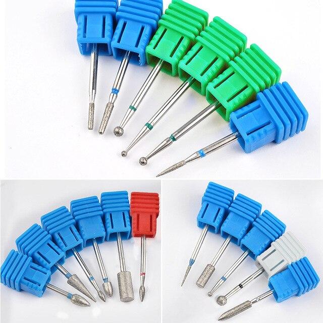1 PC Nail Manicure Diamond Drill Milling Nail Cutter Electric Nail Drill Bit For Manicure Pedicure Drill Bits Accessories 4