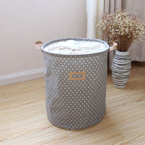 Storage-Bucket Foldable Toy Linen Cotton Fabric Direct-Selling Manufacturers