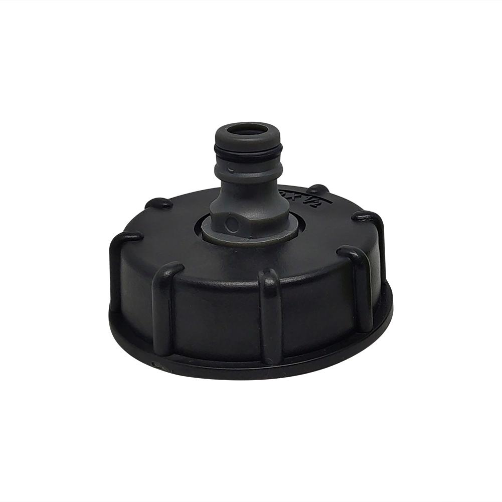 H3941cc761ab9496792807e60dd500684X Garden Water Ball Valve For IBC Container S60X6 Adapter Plant Water Tap Cap With Male Thread Hose Connection