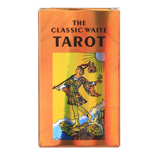 Deck Tarot-Cards Board Games Rider Waite English-Instructions Divination Playing