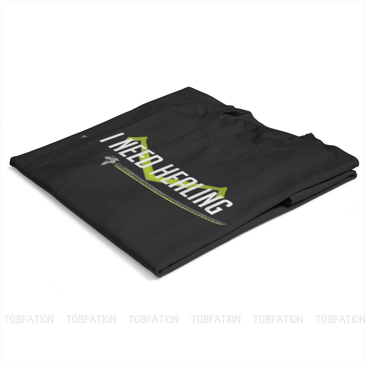 I need healing O Neck TShirt Overwatch Fabric Basic T Shirt Man's Tops New Design Oversized 2