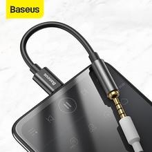 Baseus L54 Type c ~ 3.5mm AUX 이어폰 헤드폰 어댑터 usb c ~ 3.5 잭 오디오 이어폰 케이블 어댑터 Xiao mi mi 9 8
