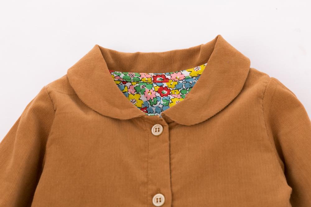 Little Maven Brand Autumn Baby Girls Clothes Cotton Hedgehog Applique Shirtdress Toddler Christmas Dresses for Kids 2-7 Years 5