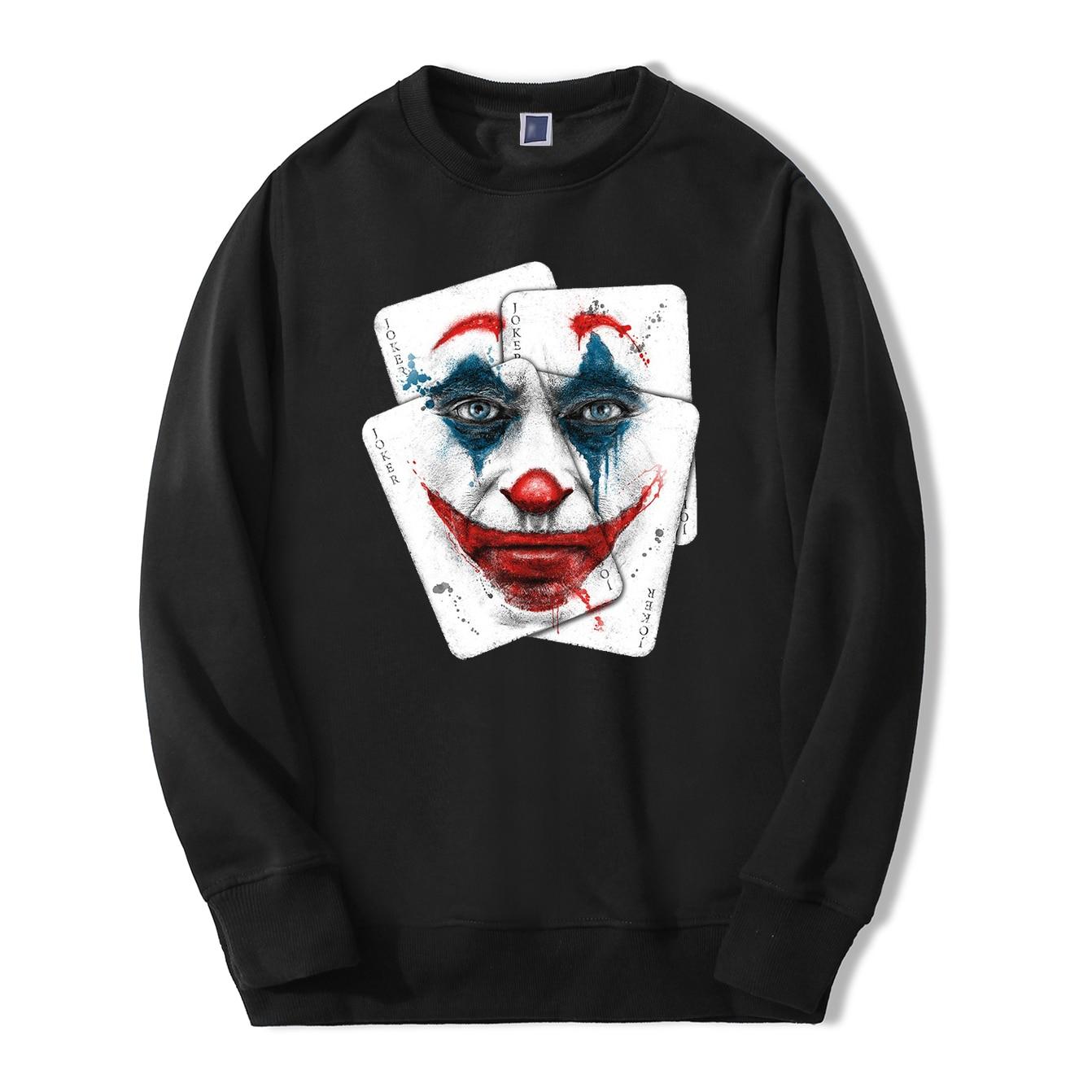 Joaquin Phoenix Joker Men Sweatshirt Hoodies 2020 Spring Autumn Casual Joker Streetwear Hip Hop Fashoin Cool Joker New Pullover