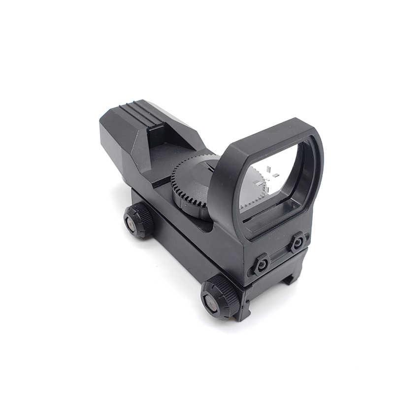 Mira telescópica para Rifle de caza, mira holográfica, óptica verde, punto táctico, accesorios para mira de Rifle duraderos