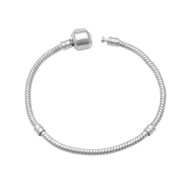 100% ソリッド 925 スターリングシルバーロングスネークチェーンブレスレットの結婚式の宝石 Pulseras プラタ · デ · Ley 925 mujer 宝石
