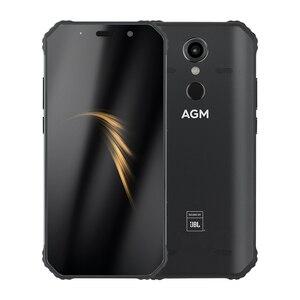 """Image 5 - AGM Smartphone Android 8.1 4G 64G Telefono Cellulare Robusto NFC Co Branding 5.99 """"FHD 5400mAh IP68 impronte digitali di Tipo C Quad Box Altoparlanti A9"""