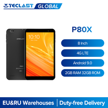 Teclast P80X 8 ''Tablet 4G Netwerk & Call A55 64 Bit Octa Core Android 9.0 1280X800 2Gb Ram 32Gb Rom Tabletten Pc Dual Camera Gps