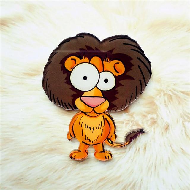 1PC High Quality Cartoon Animal Fridge Magnets Whiteboard Sticker Cute Acrylic Popular Animal Home Decoration 4
