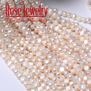 100% Real Pearl Natural Freshwater Cultured White Pearl Beads 4 5 6 7 8 9 10 11 mm Pearl For Women Jewelry making