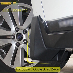 Set Molded Mud Flaps For Subaru Outback 2015 -on Mudflaps Splash Guards Mud Flap Mudguards Front Rear 2016 2017 2018 2019 2020