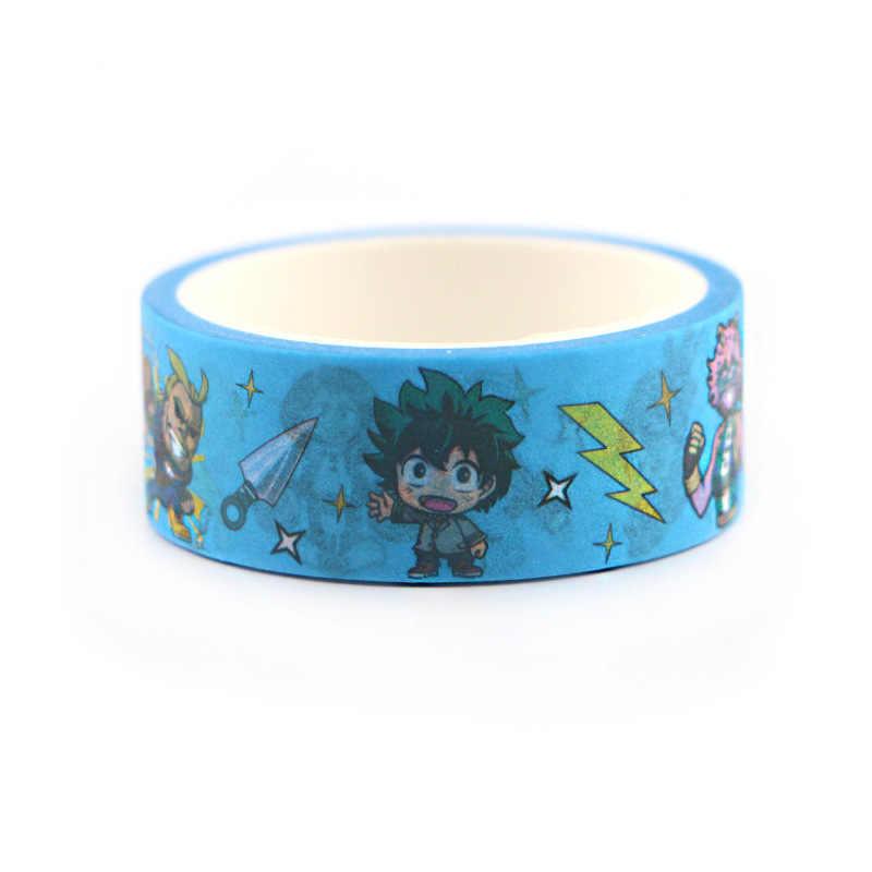 Pahlawan Saya Akademisi Masking Cuci Tape Dekoratif Adhesive Tape Dekorasia Diy Scrapbooking Stiker Label Stationery